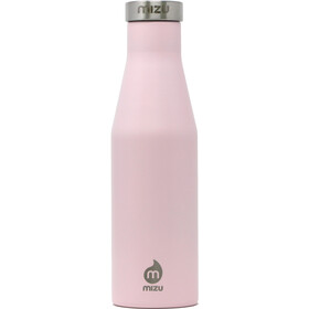 MIZU S4 Insulated Bottle 400ml with Stainless Steel Cap, soft pink